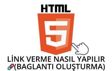 html link verme ( baglantı oluşturma )