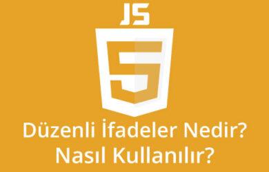 javascript düzenli ifadeler nedir nasıl kullanilir