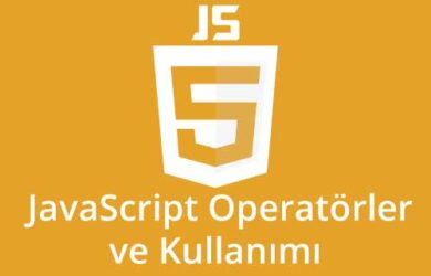 javascript operatörler ve kullanımı