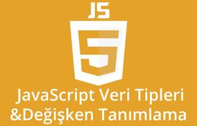 javascript-veri-tipleri-ve-degisken-tanimlama