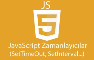 javascript-zamanlayıcılar - settimeout - setinterval